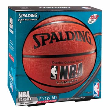 63307 Spalding NBA Basketball - Rubber Outdoor - Size7 MAIN