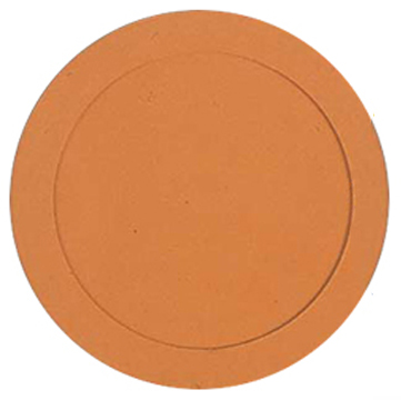 "SPOT9O Markwort Rubber Poly Spot Marker 9"" - Orange MAIN"