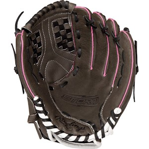 "ST1100FP Rawlings Storm Series Youth Softball Glove 11"" Regular THUMBNAIL"