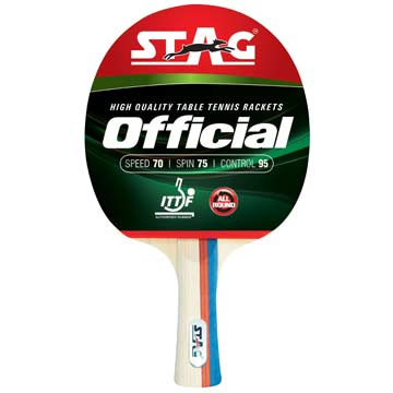 323OFF Stag OFFICIAL Table Tennis Racket THUMBNAIL