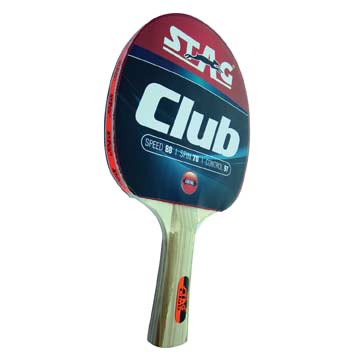 325CLU Stag Club Table Tennis Racket w/Flared Handle MAIN