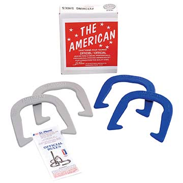 AS2 St Pierre Horseshoe Set - American Professional MAIN