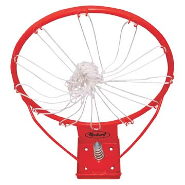 BR4006 Markwort Basketball Ring with Net THUMBNAIL