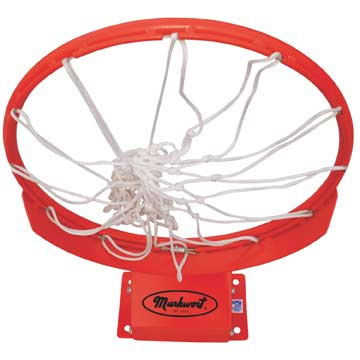 BR4021 Markwort Basketball Ring With Net THUMBNAIL