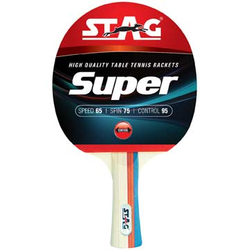 TTRA500 Stag Super Table Tennis Racket THUMBNAIL