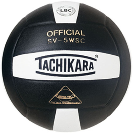SV5BKW Tachikara SV5-WSC Sensi-Tec Volleyball - Black/White MAIN