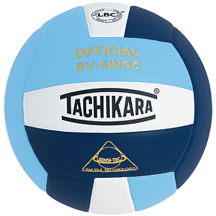 SV5PBWN Tachikara SV5-WSC Sensi-Tec Volleyball - Powder Blue/White/Navy MAIN