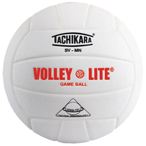 SVMN Tachikara Volley-Lite Volleyball - White MAIN