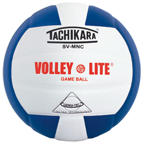 SVMNR Tachikara Volley-Lite Volleyball - Royal/White THUMBNAIL