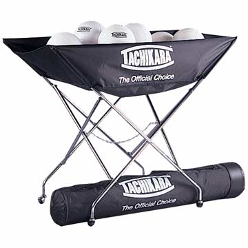 Tachikara Ball Cart - Holds 24 - Black MAIN
