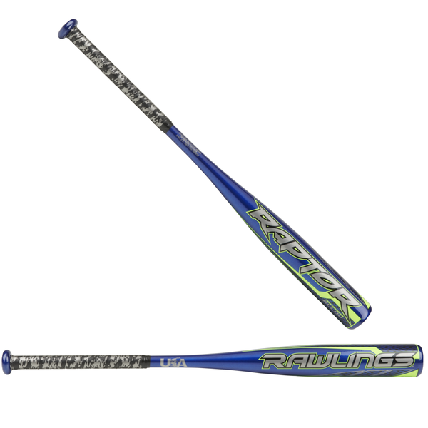 USZR10 Rawlings Raptor Youth USA Baseball Bat -10oz MAIN