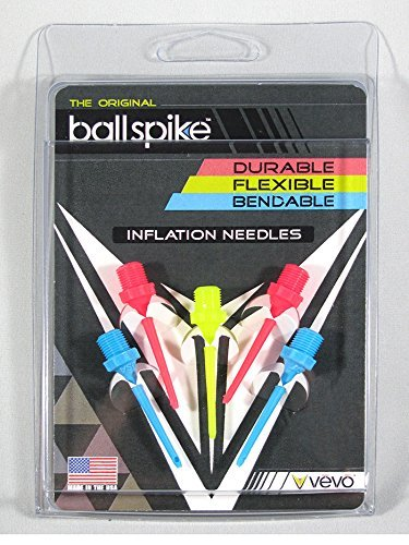 VBSMC3PK Vevo Sports Ball Spike Inflation Needles - 3 Pack - Multicolor THUMBNAIL