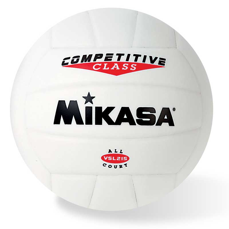 VSL215W Mikasa Competitive Class Volleyball - White MAIN