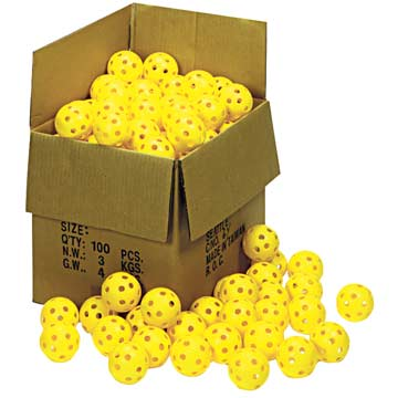 "78450 Plastic 12"" Pliable Softball - Box of 100 THUMBNAIL"