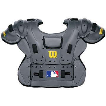 A3215 Wilson Pro Platinum Chest Protector THUMBNAIL