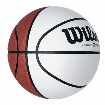 "Wilson Autograph Basketball - 29.5"" MAIN"