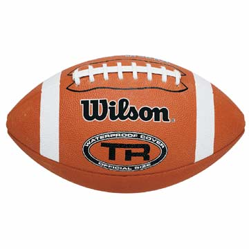 F1552XB Wilson TR Waterproof Football - Official Size MAIN