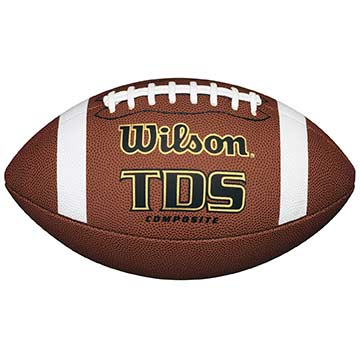 WF1715B Wilson TDS Composite Football - Official Size MAIN