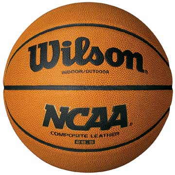 "WTB0752 Wilson NCAA composite Basketball - 27"" Youth Size MAIN"