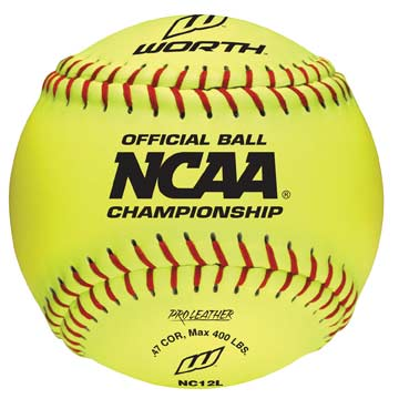 "NC12L Rawlings NCAA 12"" Softball THUMBNAIL"