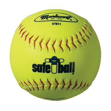 "STB11Y Markwort Safe-T-Ball Softball - 11"" - 6.2oz - Yellow MAIN"