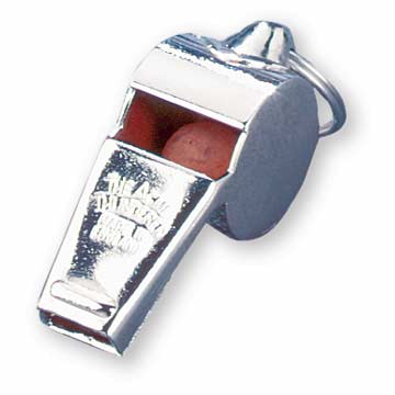 Acme Thunderer Whistle - Brass - 59 1/2 THUMBNAIL