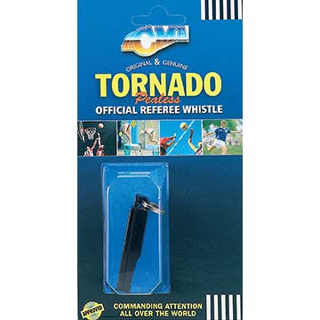 636B Acme Whistle - Slimline Tornado - Black THUMBNAIL