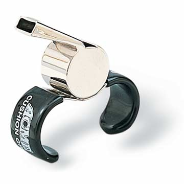 Acme Finger Grip Whistle 59 1/2 - Brass THUMBNAIL