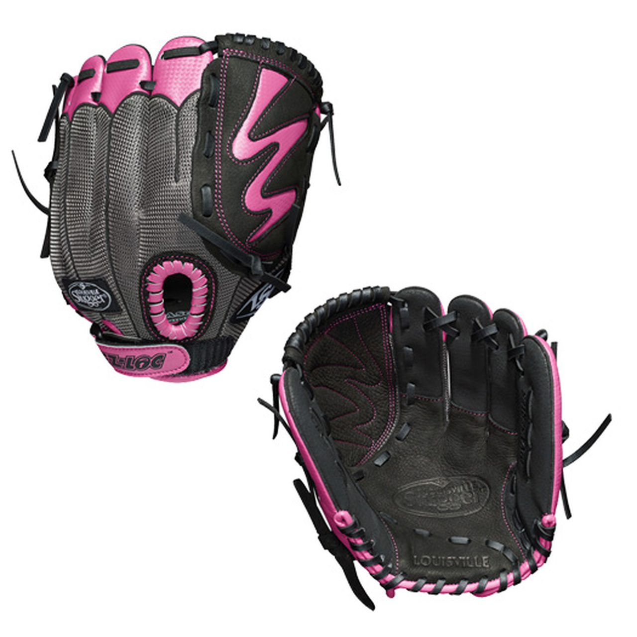 "LDVRB19105 Louisville Slugger Diva 10.5"" Youth Fastpitch Softball Glove - Regular MAIN"