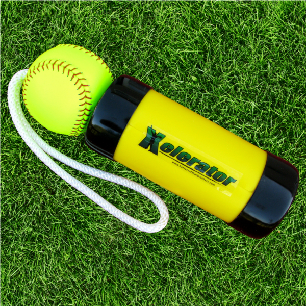 Xelerator Leather FastPitch Softball Trainer THUMBNAIL