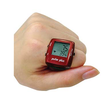 MN01RD Pulse Plus Heart Rate Ring - Red THUMBNAIL