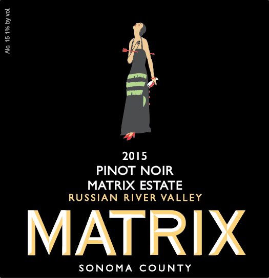 2015 Magnum Matrix Estate Pinot Noir