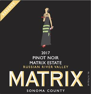 2017 MATRIX ESTATE RESERVE PINOT NOIR MAIN