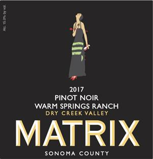 2017 WARM SPRINGS RANCH PINOT NOIR MAIN