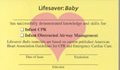 Lifesaver: Baby Course Completion Card (Pack of 50) (101004)