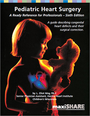 Pediatric Heart Surgery: A Ready Reference for Professionals - Desk size (106011) MAIN
