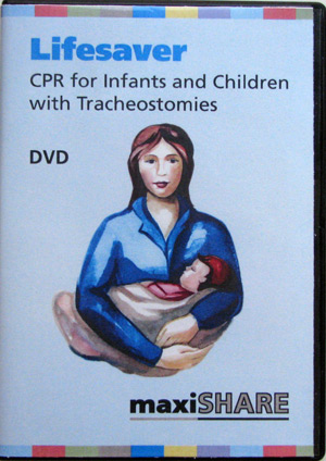 Lifesaver DVD: CPR for Infants and Children with a Trach (English) (401501) MAIN