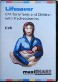 Lifesaver DVD: CPR for Infants and Children with a Trach (English) (401501)
