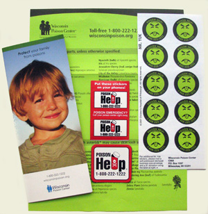 Protect Your Family From Poisons - Home Packet (limit 5 per order)