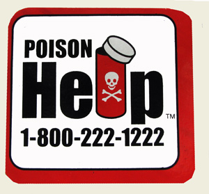 """Poison Help"" magnet - Purchase additional MAIN"