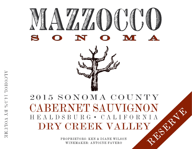 2015 Cabernet Sauvignon Reserve, Dry Creek Valley THUMBNAIL