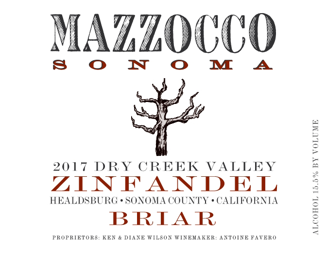 2017 Zinfandel Briar, Dry Creek Valley_THUMBNAIL