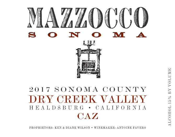 2017 Caz, Dry Creek Valley THUMBNAIL