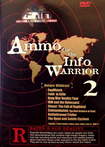 Ammo For The Info Warrior 2 documentary poster LARGE