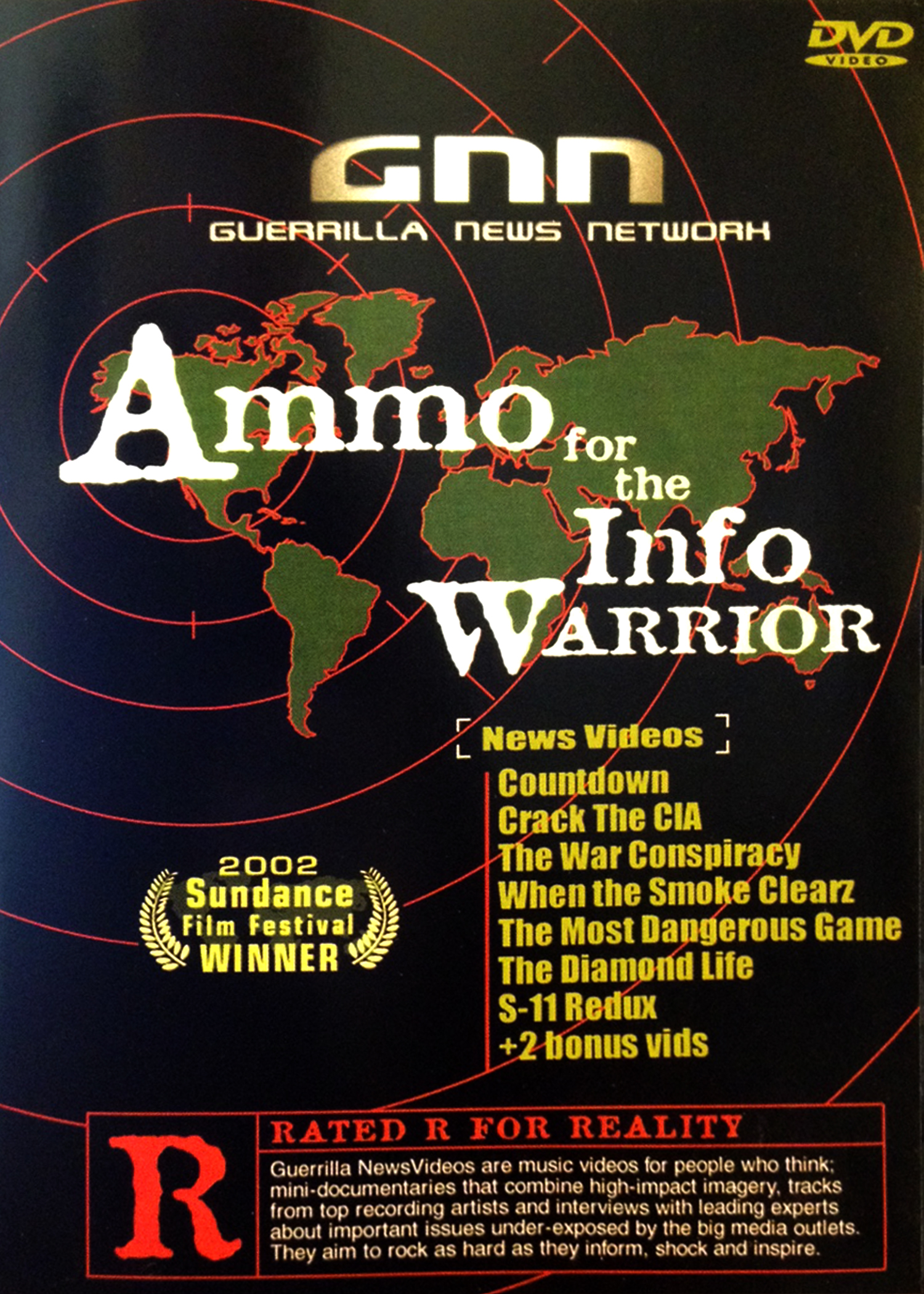 Ammo for the Info Warrior - socio-political documentary shorts