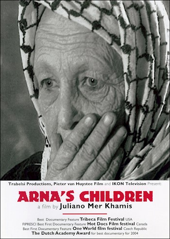Arna's Children: How The Children Of A Palestinian Theater Group Got Involved In The Intifada documentary poster LARGE