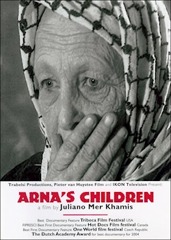 Arna's Children: How The Children Of A Palestinian Theater Group Got Involved In The Intifada documentary poster THUMBNAIL