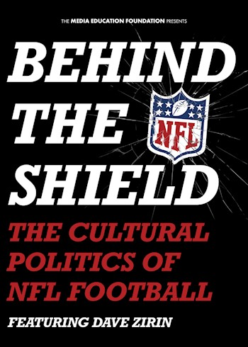 Behind The Shield: The Cultural Politics Of NFL Football documentary poster LARGE