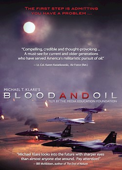 Blood & Oil: Featuring Michael T. Klare documentary poster THUMBNAIL
