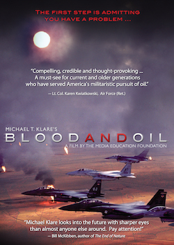 Blood & Oil - Michael Klare on oil, war, and foreign policy